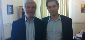 Συνάντηση Χρίστου Δήμα με τον Περιφερειάρχη Πελοποννήσου κ. Πέτρο Τατούλη