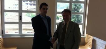 Επίσκεψη Χρίστου Δήμα στο Περιφερειακό Συμβούλιο Πελοποννήσου και συνάντηση με τον Αντιπεριφερειάρχη κ. Απόστολο Παπαφωτίου