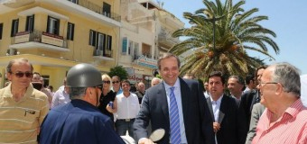 Επίσκεψη πρόεδρου της ΝΔ κ. Αντώνη Σαμαρά στην Κορινθία
