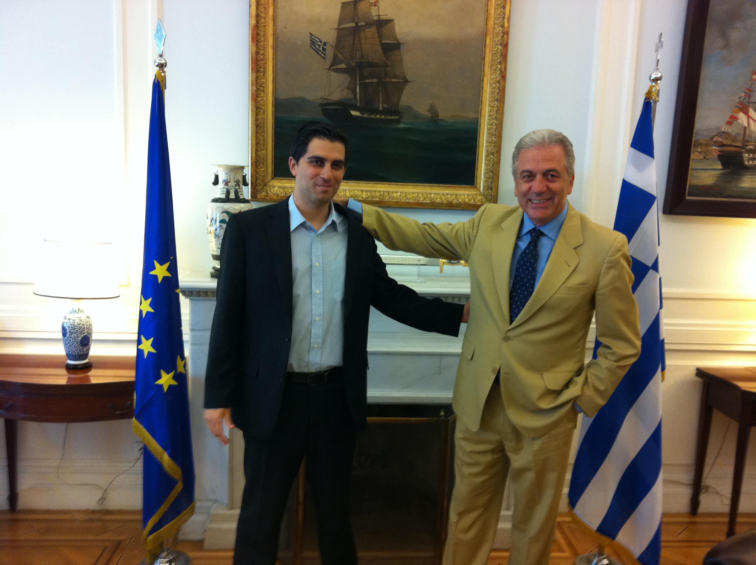 Συνάντηση Χρίστου Δήμα με τον ΥΠΕΞ κ. Δημήτρη Αβραμόπουλο