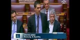 Επίκαιρη ερώτηση για την αυξημένη μεταναστευτική πίεση στα νησιά του Ανατολικού Αιγαίου (video)