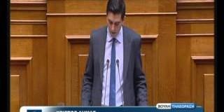 Ομιλία Χρίστου Δήμα για την αναδιοργάνωση της Ελληνικής Αστυνομίας (video)