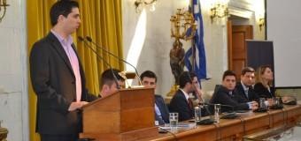 Ομιλία σε φοιτητές και νέους για την κρίση της Ε.Ε. και τη σημασία των ευρωεκλογών