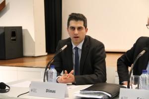 Μιλώντας σε συνέδριο στις Βρυξέλλες (Μάϊος 2014)