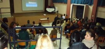 Στην εκδήλωση του 5ου Δημοτικού Σχολείου Κορίνθου για την αντιμετώπιση των μαθησιακών δυσκολιών