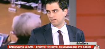 Στην εκπομπή «Τώρα» στην τηλεόραση του ΣΚΑΪ