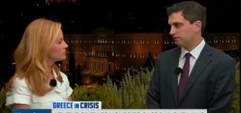 Συνέντευξη στο τηλεοπτικό δίκτυο Bloomberg για τις πολιτικές εξελίξεις (video)