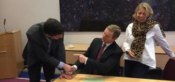 Συνάντηση με τον Πρωθυπουργό της Ιρλανδίας Enda Kenny και επίσκεψη στα γραφεία της Google στο Δουβλίνο