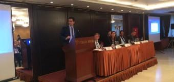 Ο Χρίστος Δήμας εισηγητής σε εκδήλωση  του Ινστιτούτου Δημοκρατίας Κ.Καραμανλής και του Haans Seidel Stiftung