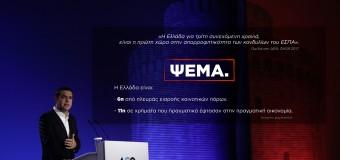 (ΕΡΩΤΗΣΗ) Ένα ακόμα ψέμα του κ. Τσίπρα στη ΔΕΘ για το ΕΣΠΑ