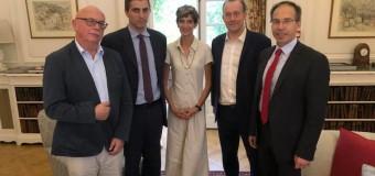 ΔΕΛΤΙΟ ΤΥΠΟΥ   Συνάντηση με τον Αναπλ.Υπουργό για το Brexit