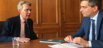 ΣΥΝΑΝΤΗΣΗ | Με τον Πρέσβη των ΗΠΑ στην Αθήνα κ. G. Pyatt