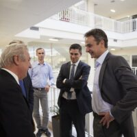 Με τον Πρωθυπουργό στη Θεσσαλονίκη ο Χρίστος Δήμας.