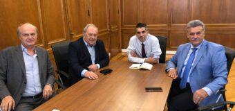 Δελτίο Τύπου | Συνάντηση Δήμα-Καλλίρη-Νανόπουλου για το φυσικό αέριο στην Κόρινθο.